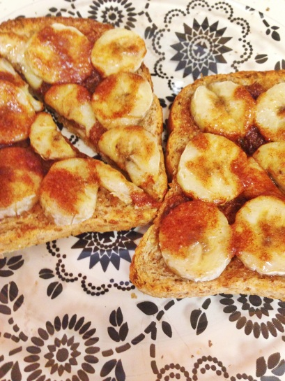 banana cinn. toast